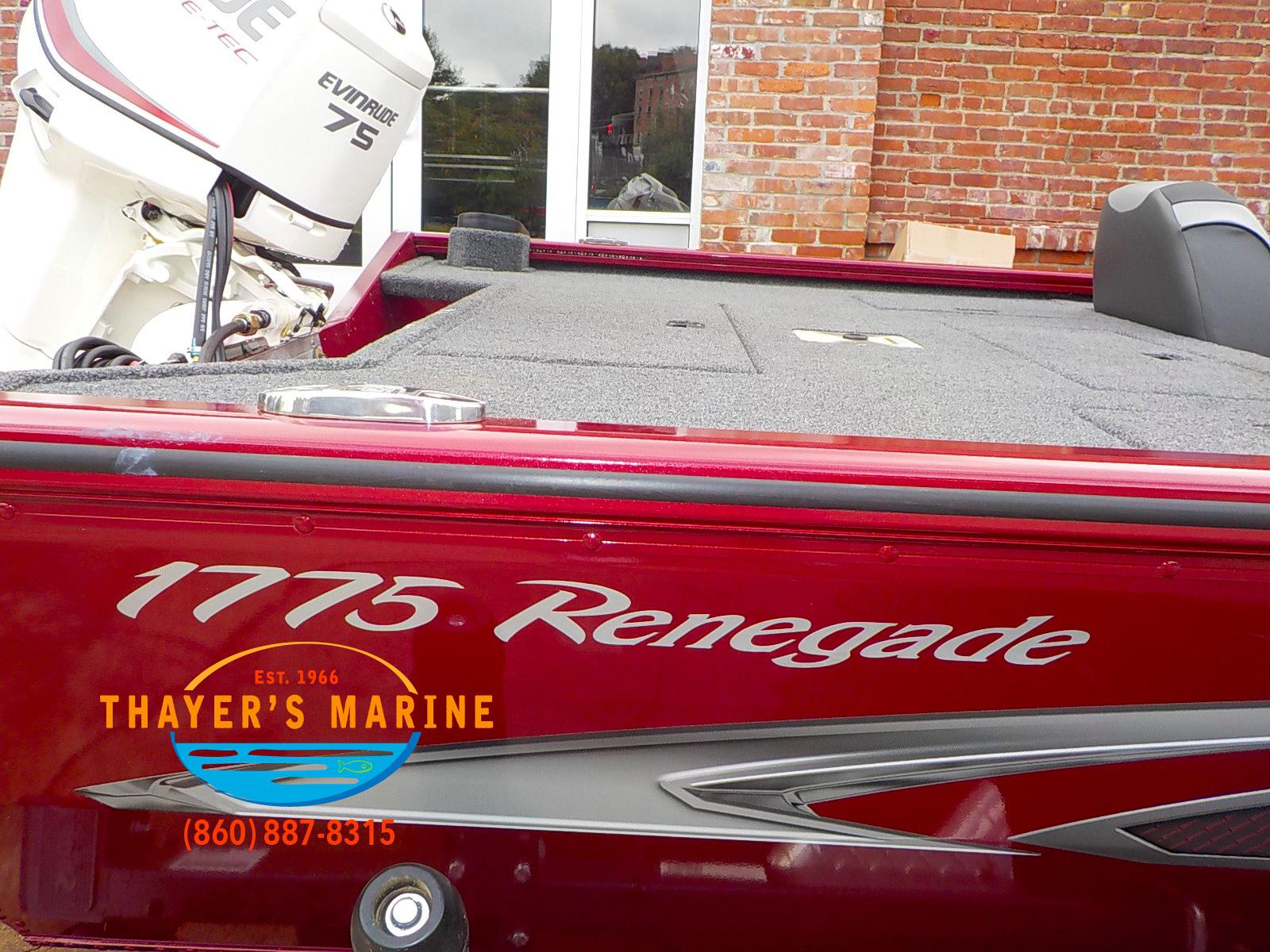 2019 Lund boat for sale, model of the boat is 1775 Renegade & Image # 27 of 32