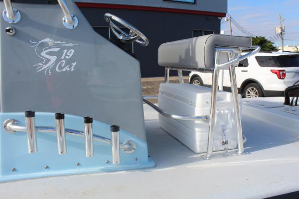 2020 Shoalwater boat for sale, model of the boat is 19 CAT & Image # 12 of 15