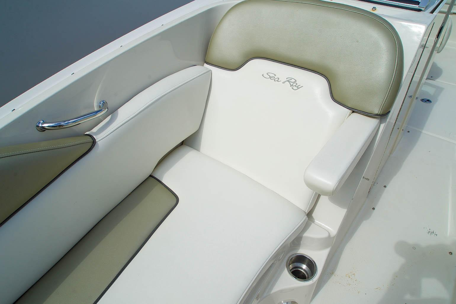 Sea Ray 260 Sundeck - Bow Seat Starboard