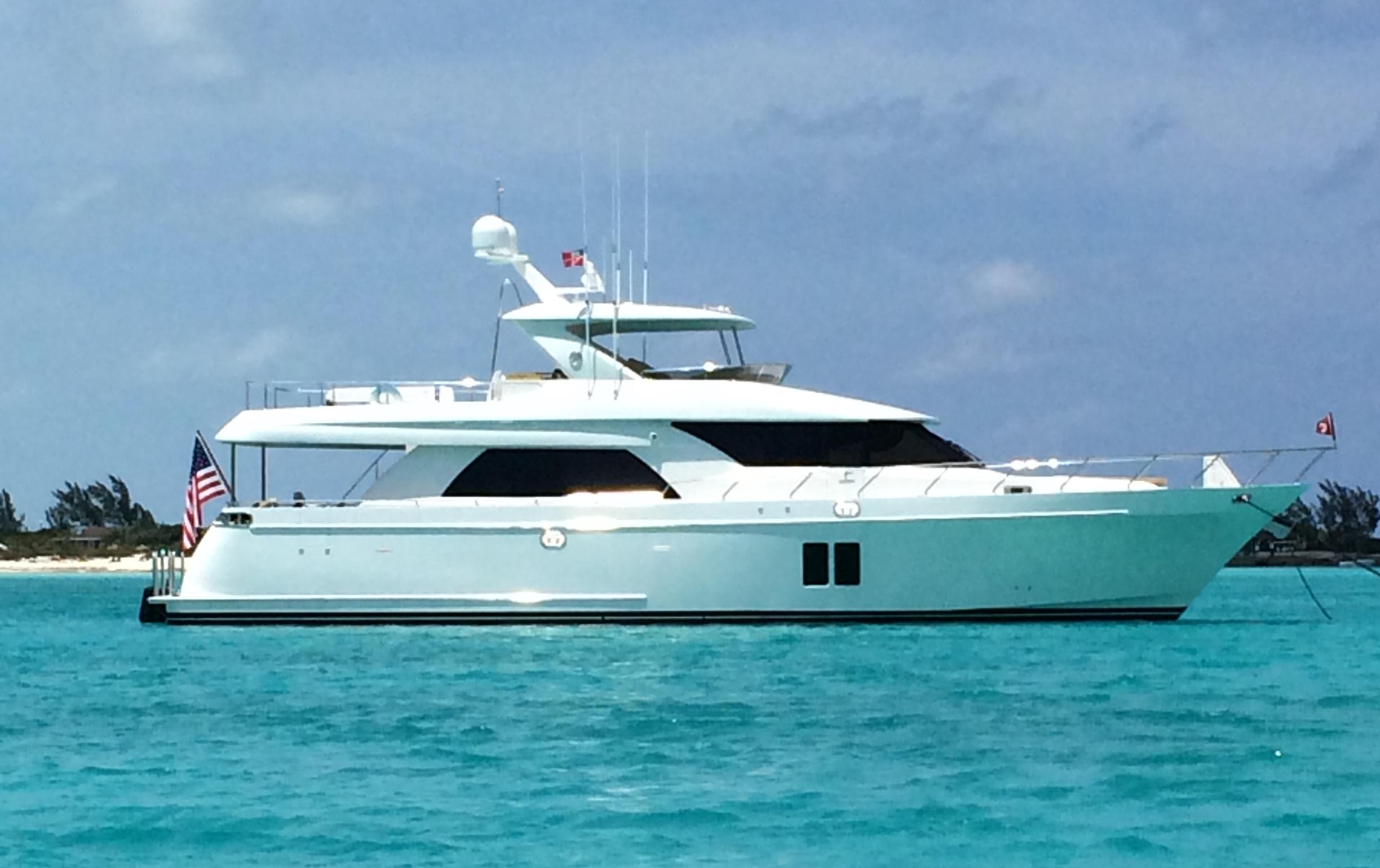 72 ocean alexander 2014 steelaway for sale in fort for Used motor yacht for sale