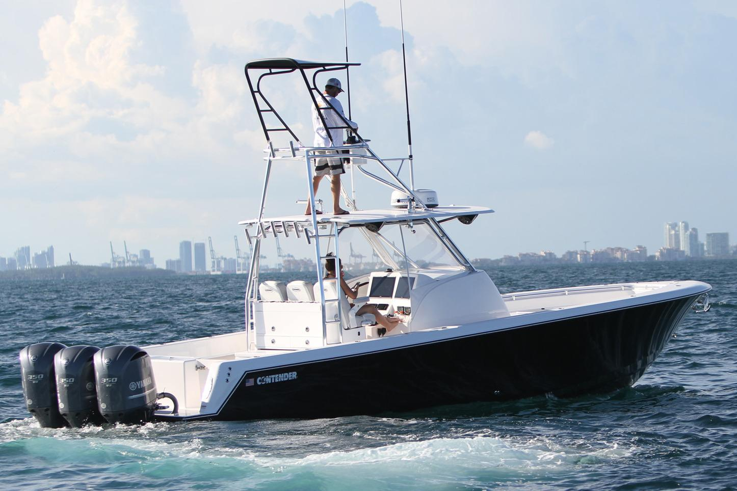 Tripple Yamaha F350 Outboards