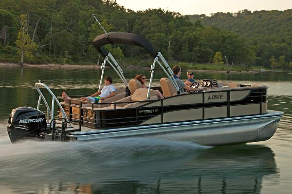 2017 Lowe boat for sale, model of the boat is Retreat 230 RFL & Image # 2 of 9