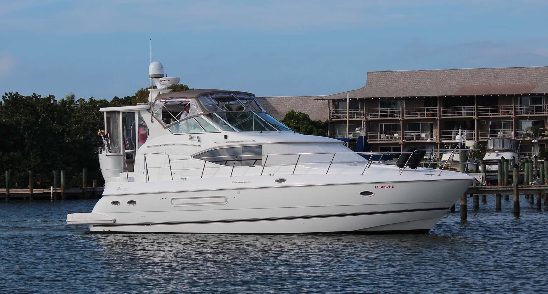 44 Cruisers Yachts Cynsational 2001 Naples Denison Yacht Sales
