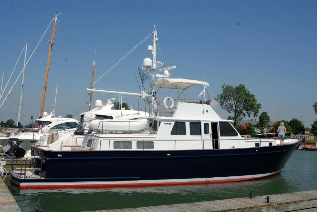 59' Kanter Sedan Flybridge Motor Yacht GREAT BLUE