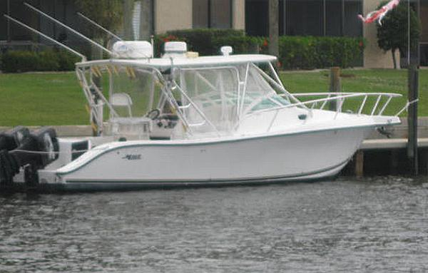 1998 33 Mako 333 Attack The Hull Truth Boating And