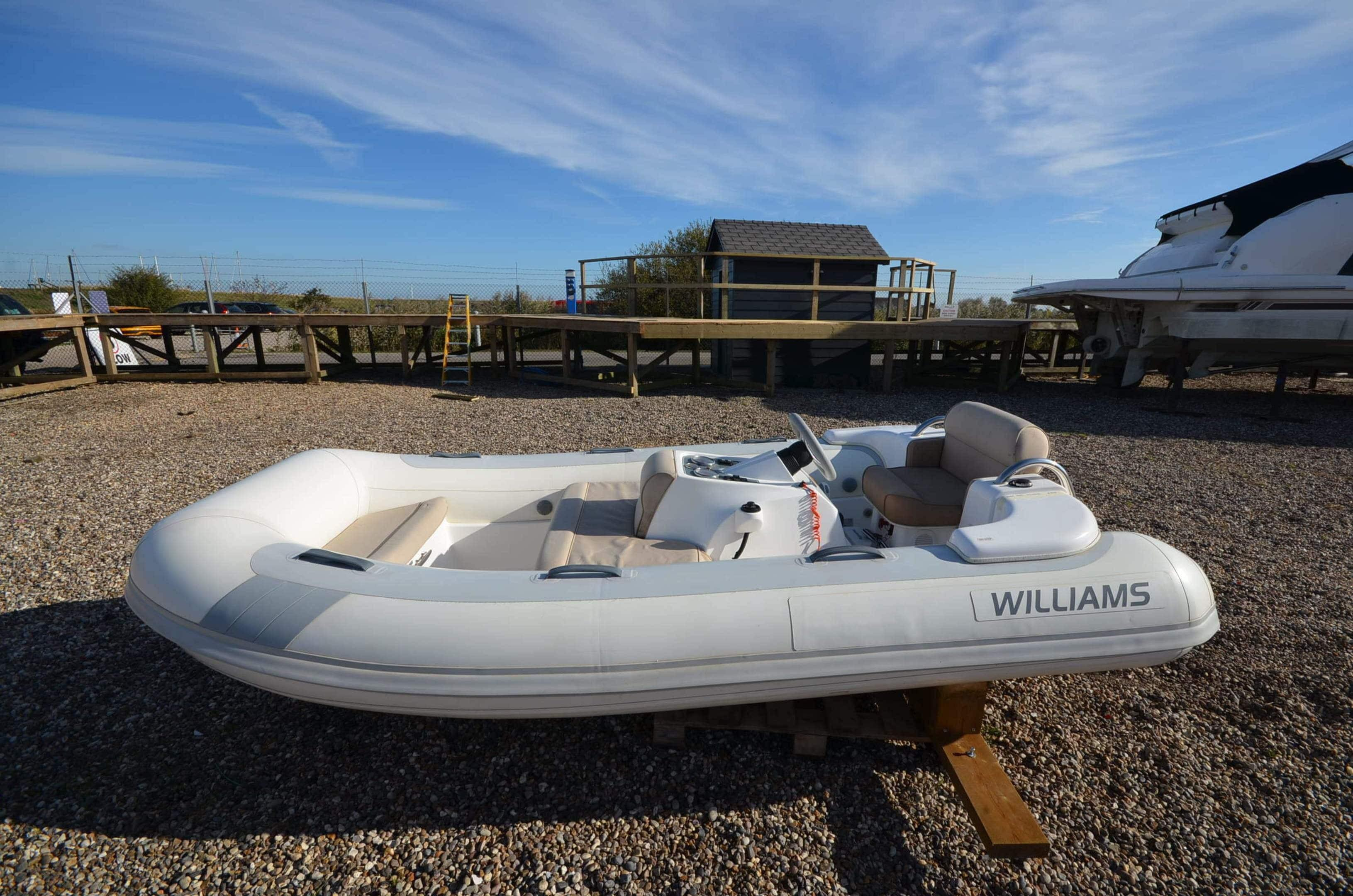 Williams Jet Tenders 325 Jet Rib