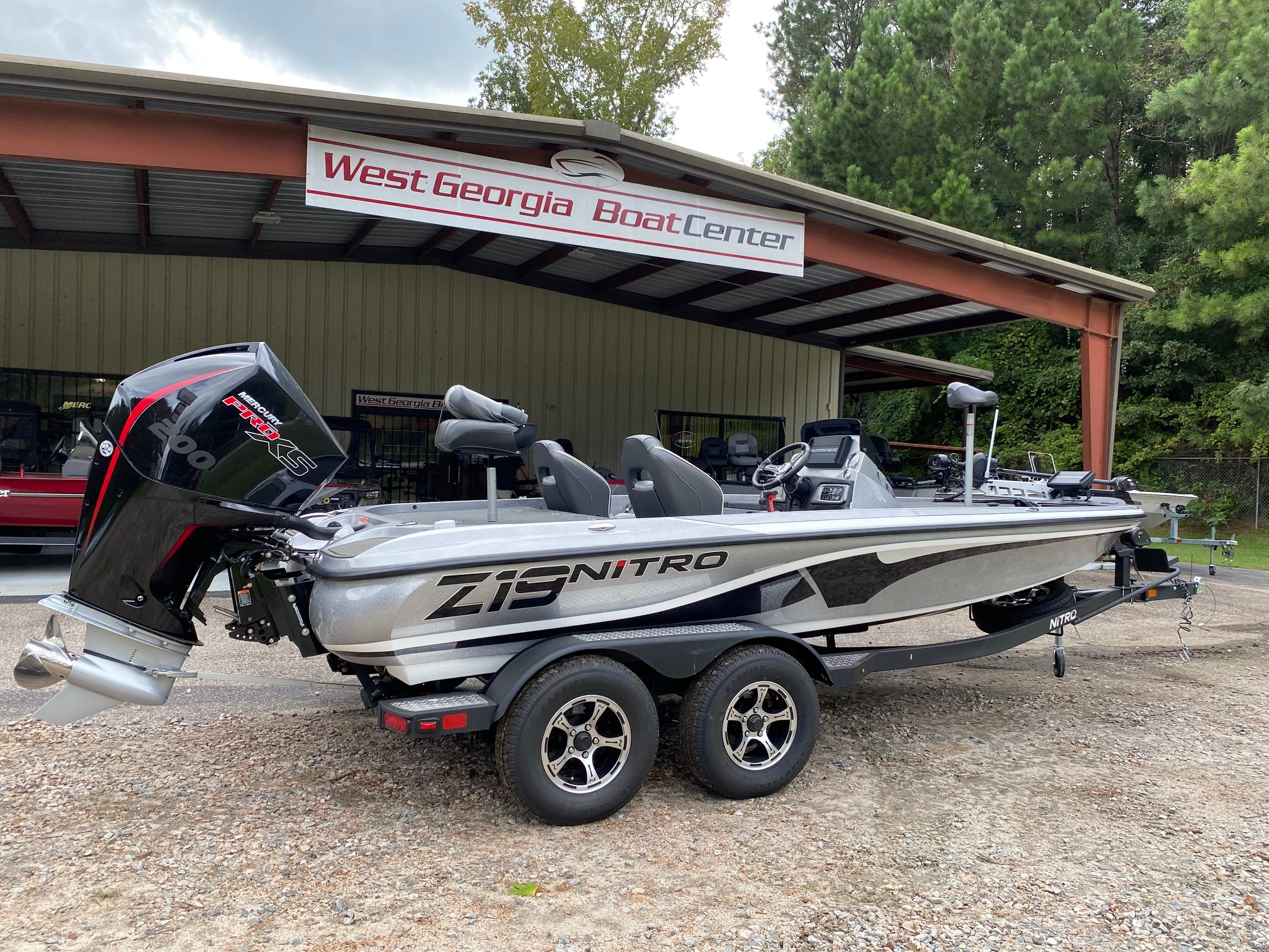 2021 Nitro boat for sale, model of the boat is Z19 w/200L PXS4 & Image # 17 of 50