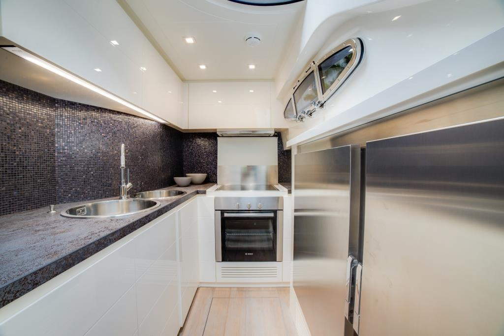 2016 Pershing 74 - Galley