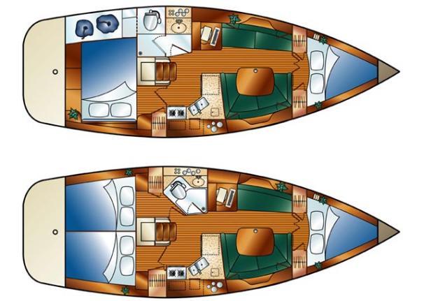 Hunter 36 Gustandola 4116958 For Charter Yachtworld