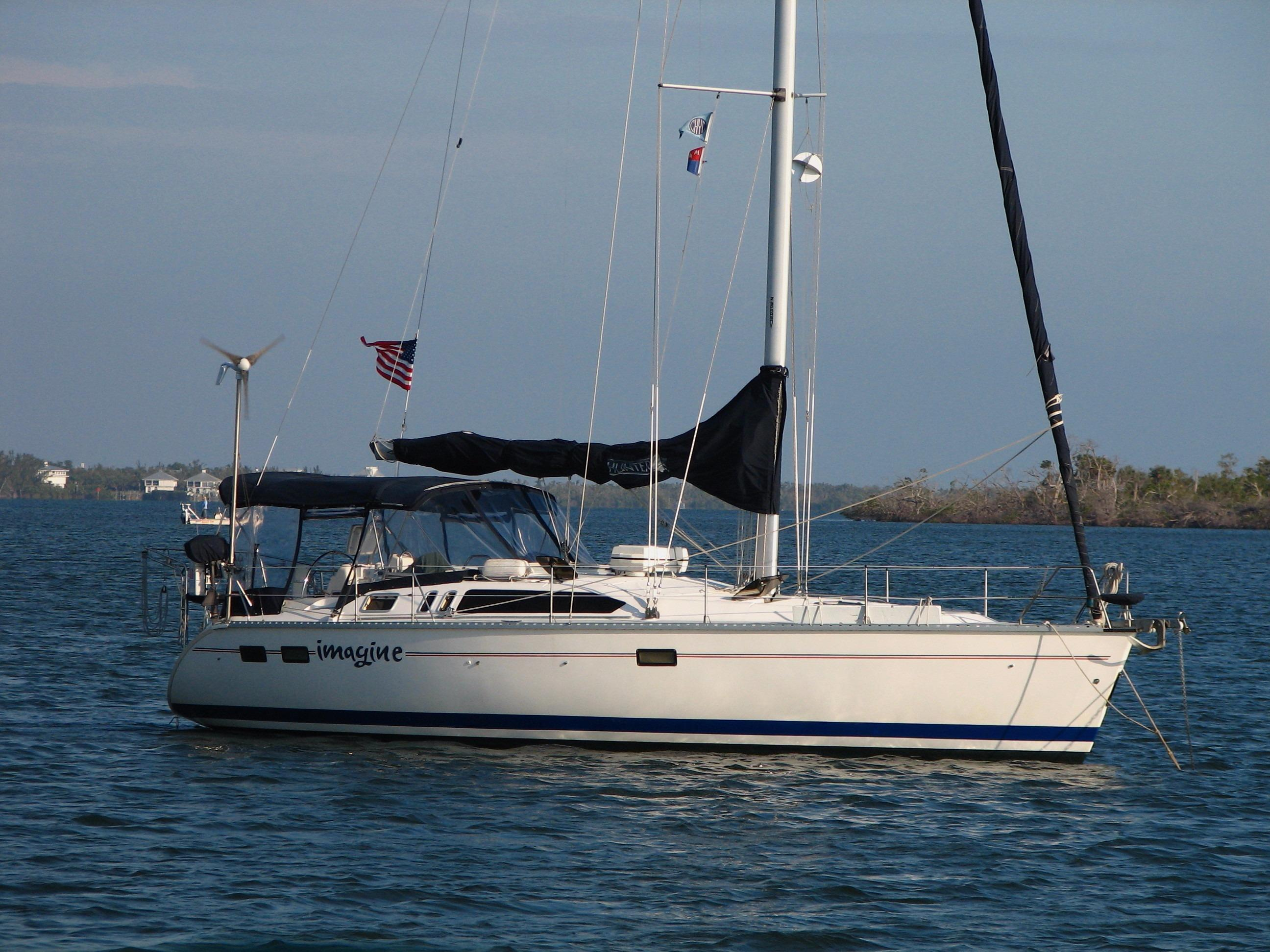 40' Hunter 1995 40.5 Wing Keel Great Shape
