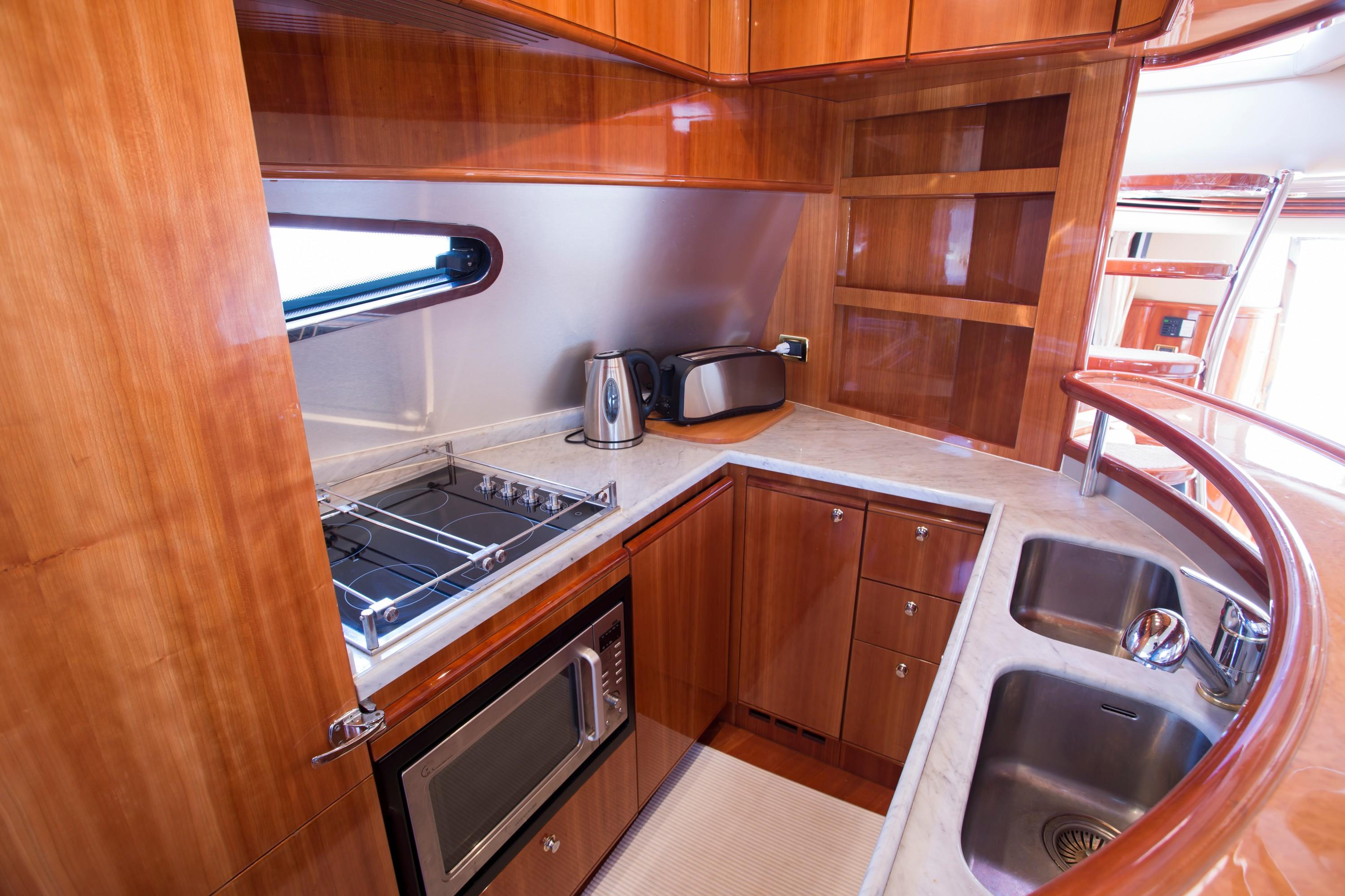 2009 Azuimut 68 Evolution - Galley