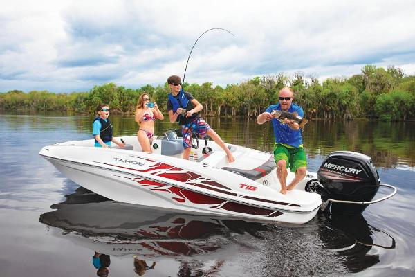2021 Tahoe boat for sale, model of the boat is T16 & Image # 13 of 114
