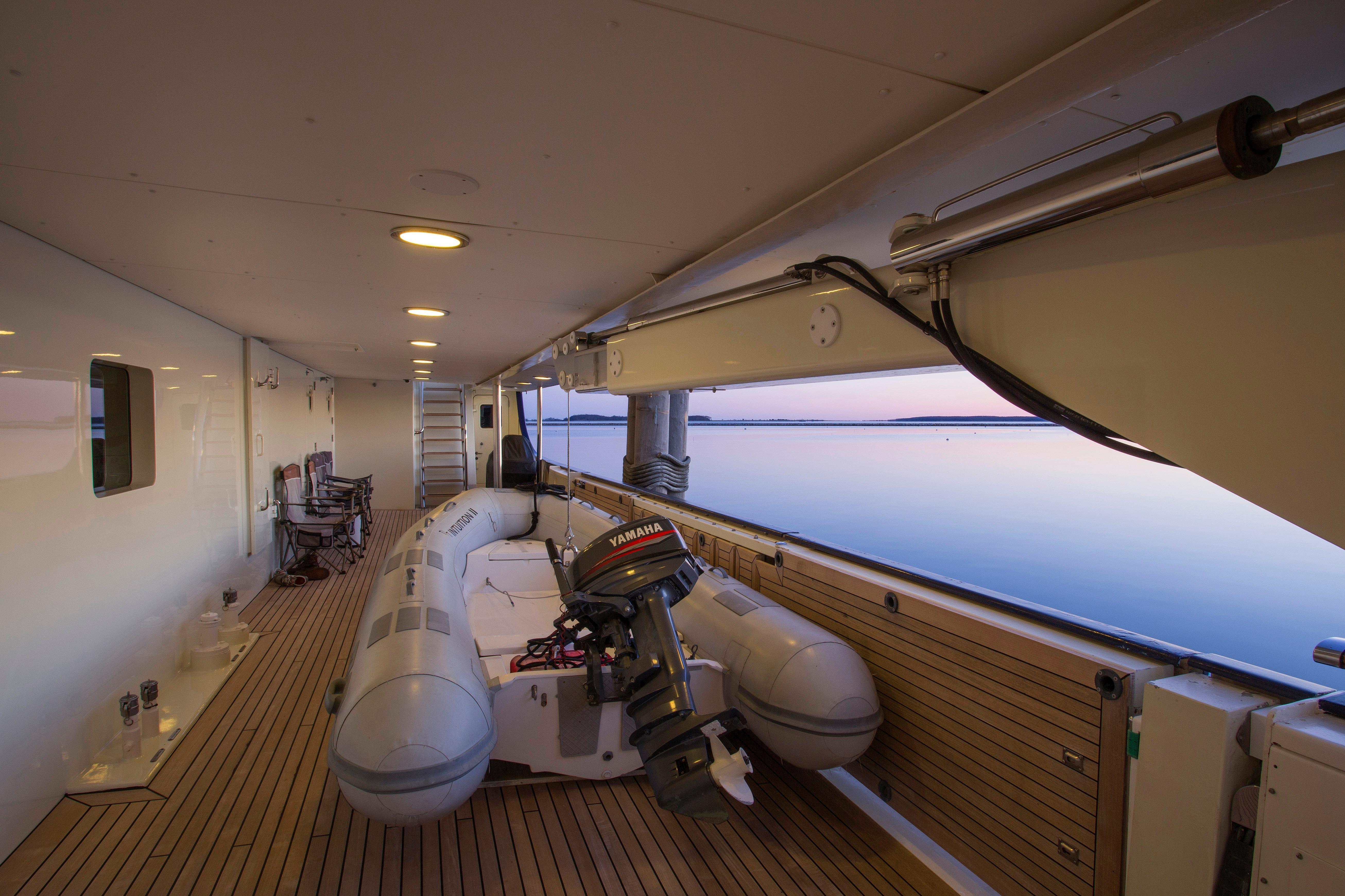 Main Deck Boarding