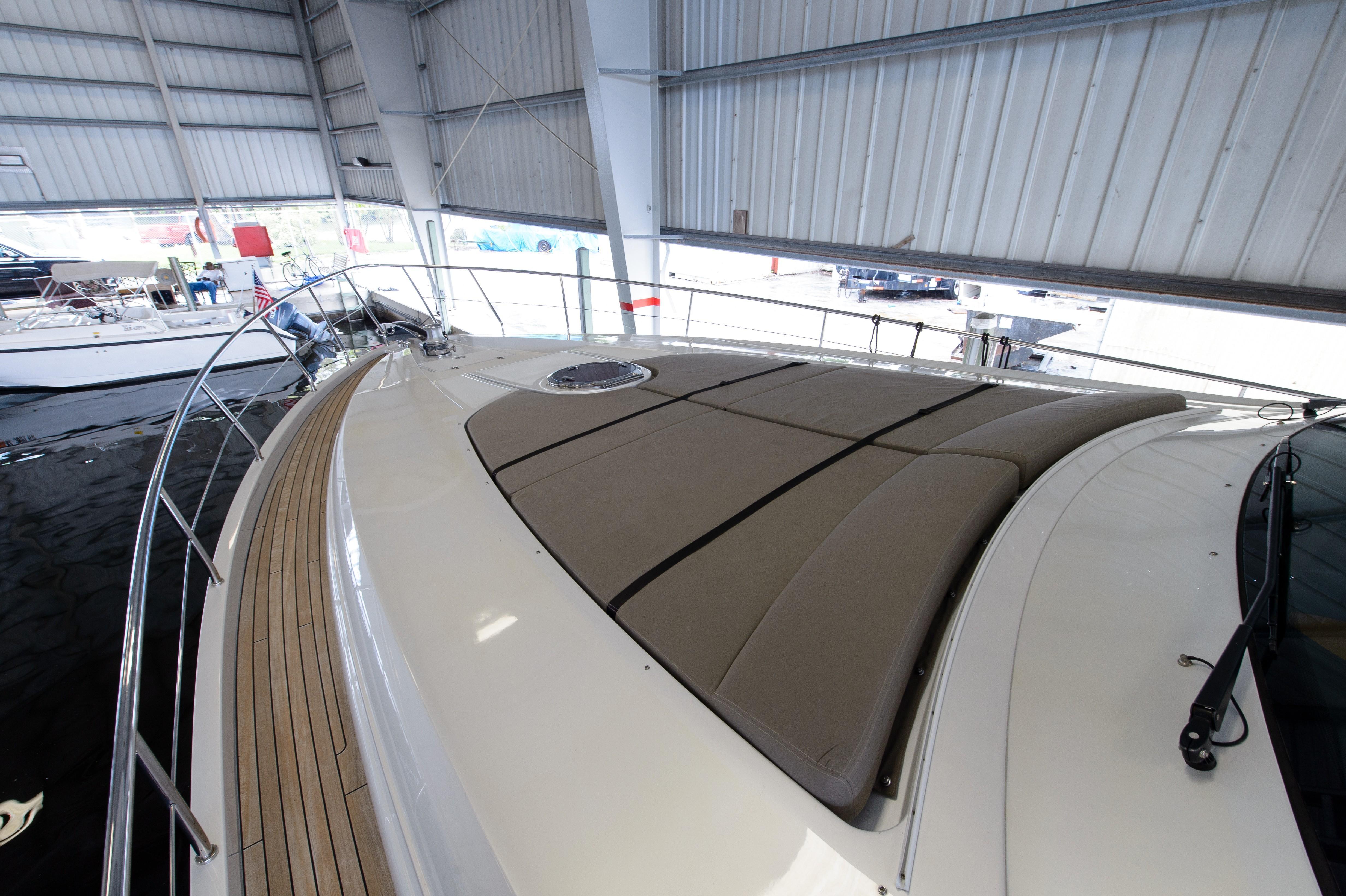 2012 Pershing 64 - Bow Sunpads