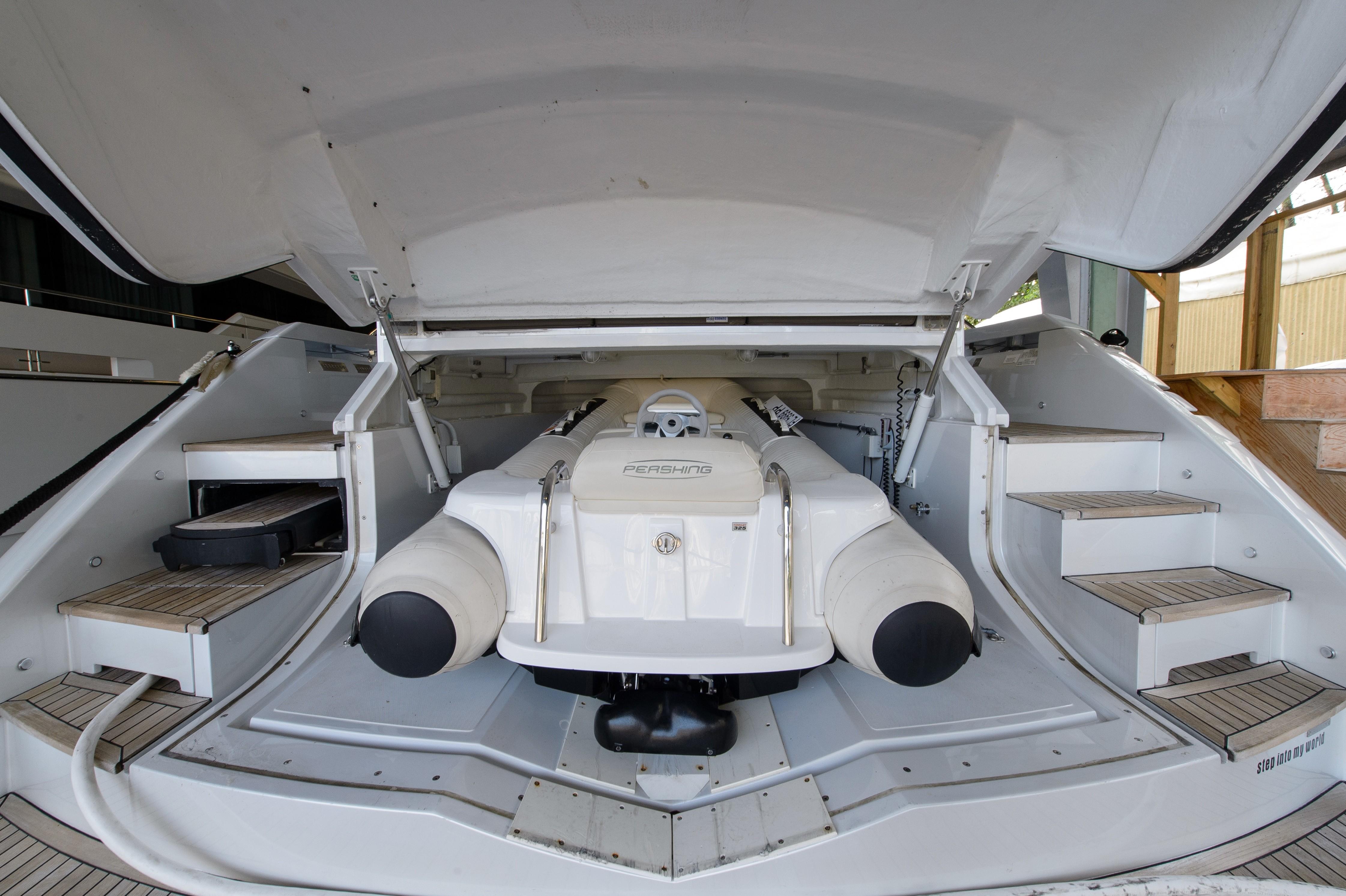 2012 Pershing 64 - Garage w/ Tender