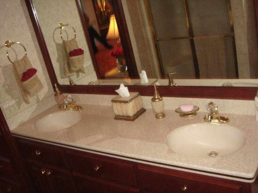 Fantasy 100 Master Head / Dual Sink Vanity