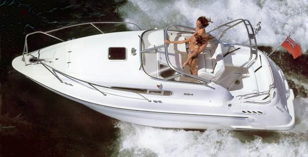 Sealine S24 sports cruiser, 1999 wtih Volvo Penta 4.3 ltr petrol engine, ...
