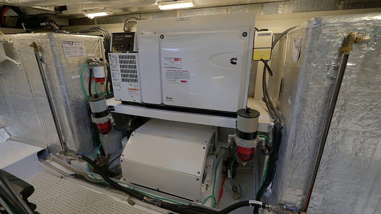 SeaKeeper and Generator