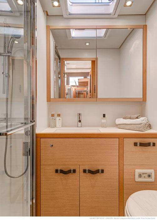 Manufacturer Provided Image: Lagoon 630 Bathroom
