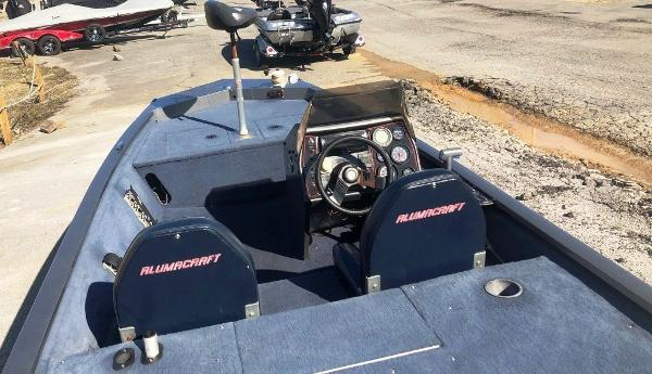 1991 Alumacraft boat for sale, model of the boat is Maverick & Image # 3 of 16