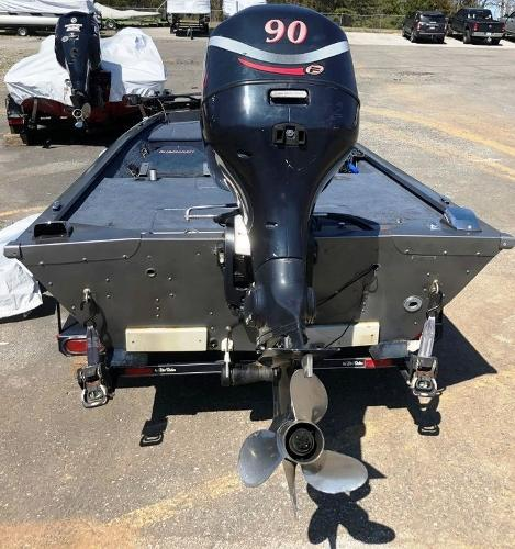 1991 Alumacraft boat for sale, model of the boat is Maverick & Image # 8 of 16