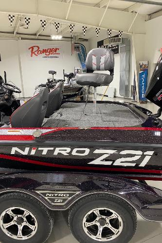 2021 Nitro boat for sale, model of the boat is Z21 Pro & Image # 4 of 10