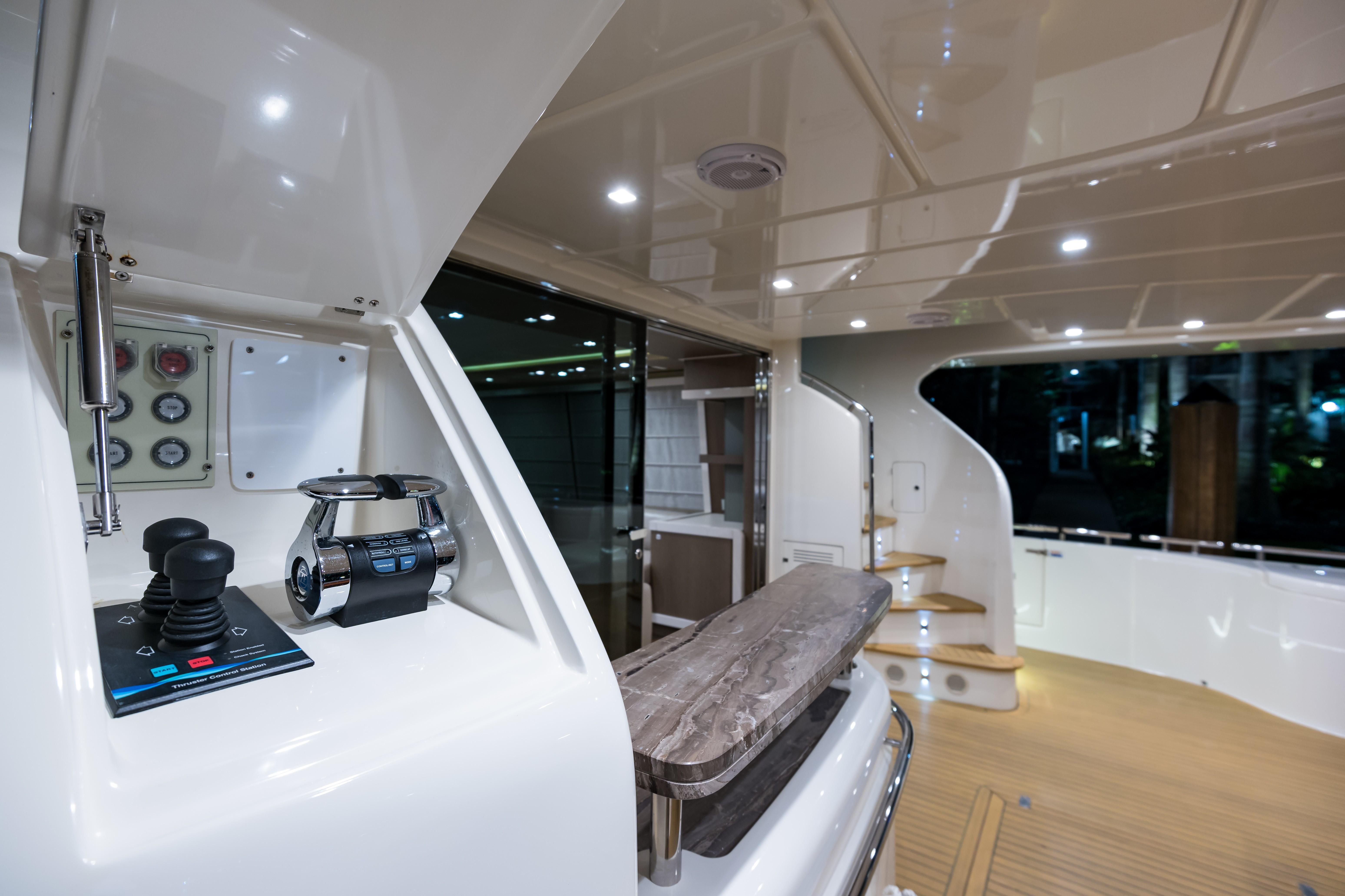 Janus Navem, 870 Ferretti Aft Deck