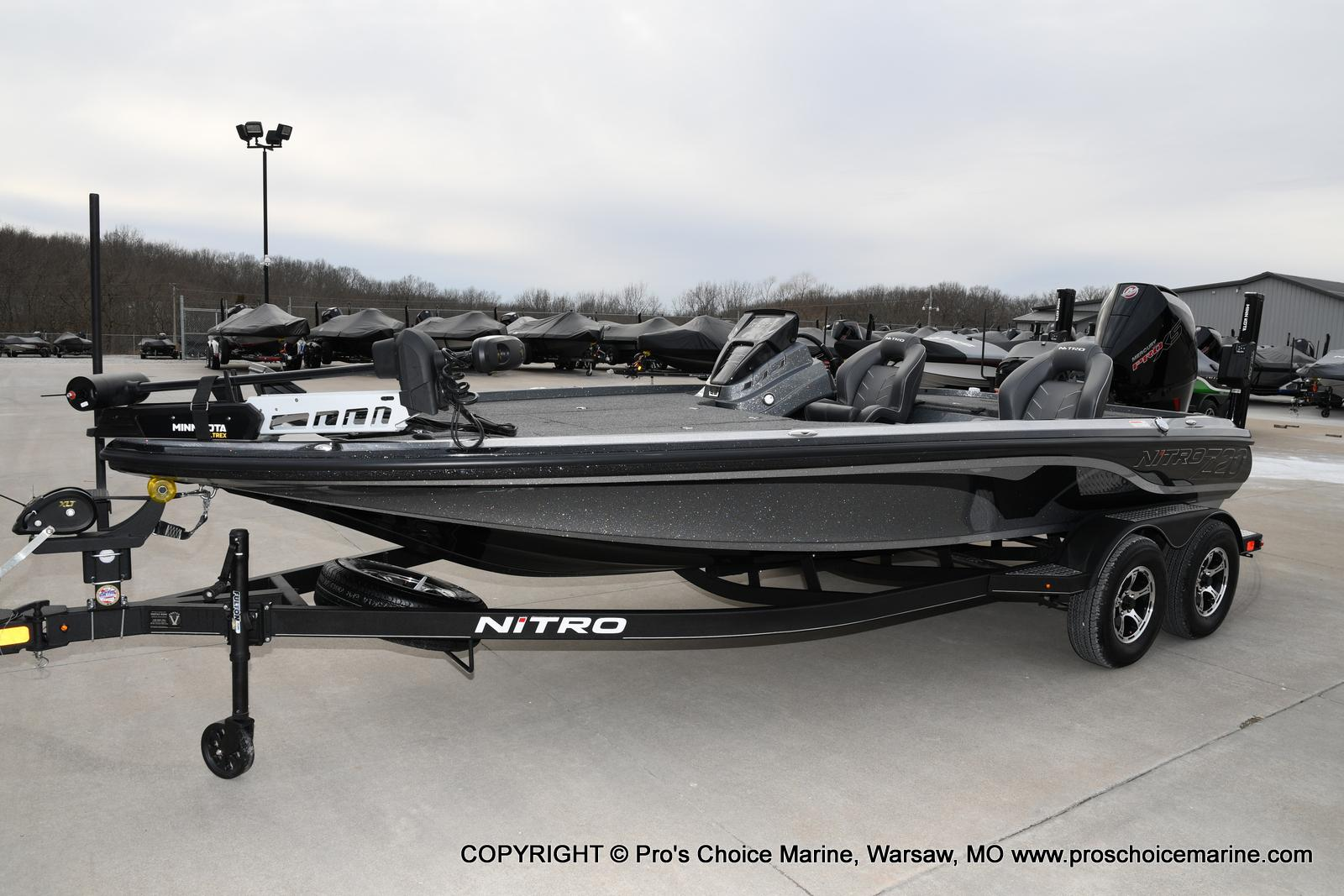 2020 Nitro boat for sale, model of the boat is Z20 Pro Pack & Image # 12 of 50