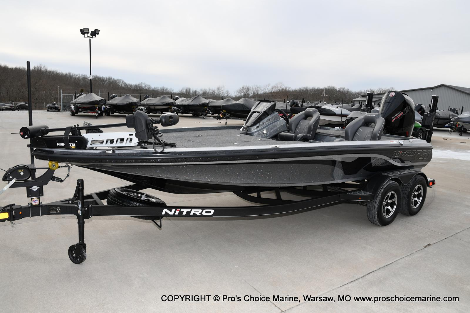 2020 Nitro boat for sale, model of the boat is Z20 Pro Pack & Image # 48 of 50