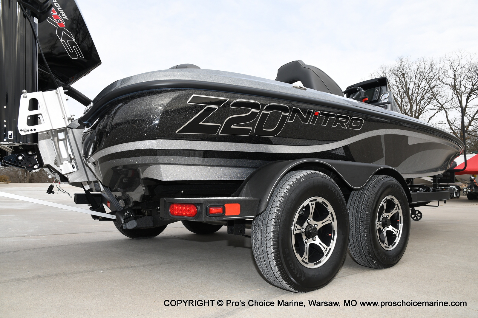 2020 Nitro boat for sale, model of the boat is Z20 Pro Pack & Image # 20 of 50