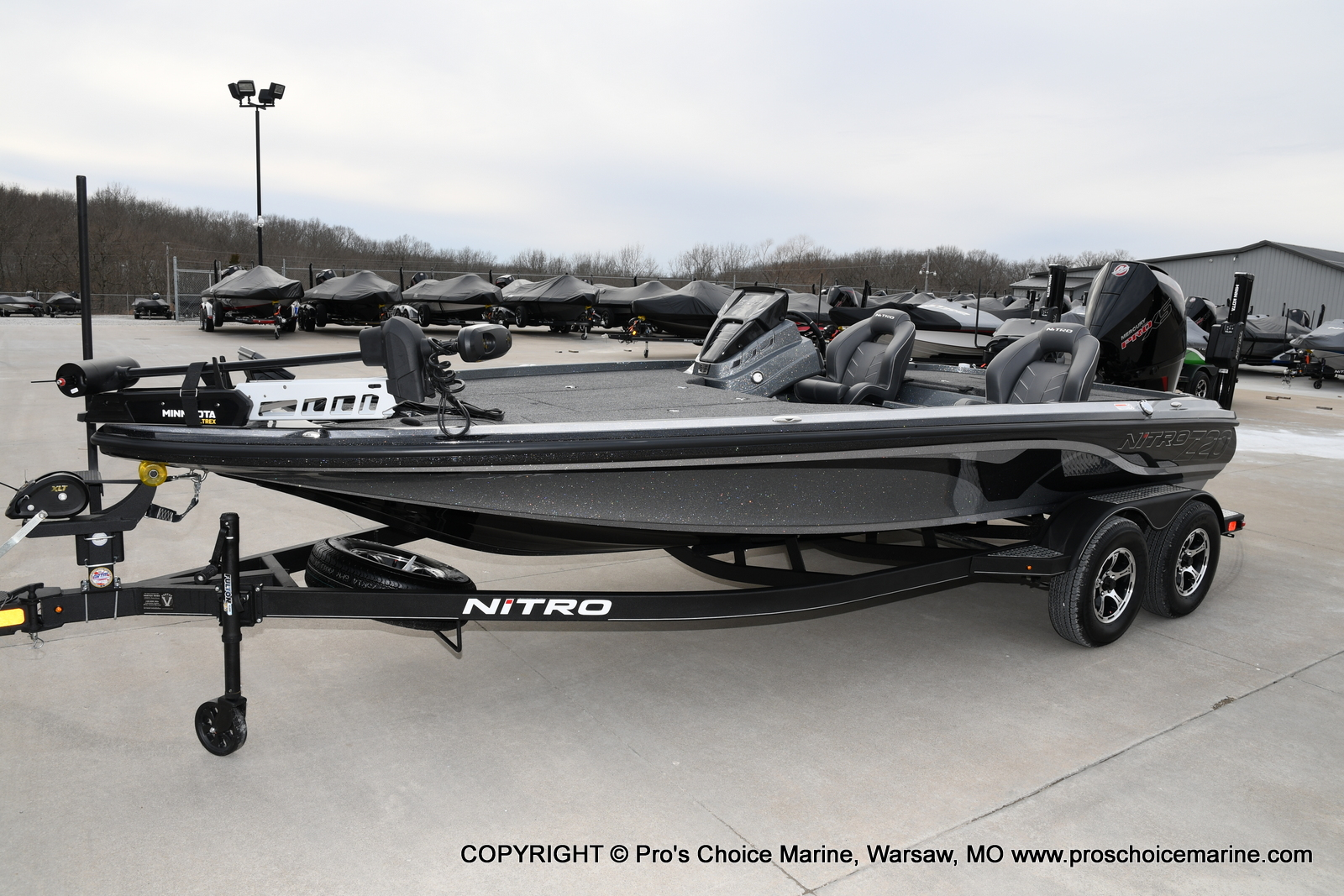 2020 Nitro boat for sale, model of the boat is Z20 Pro Pack & Image # 21 of 50