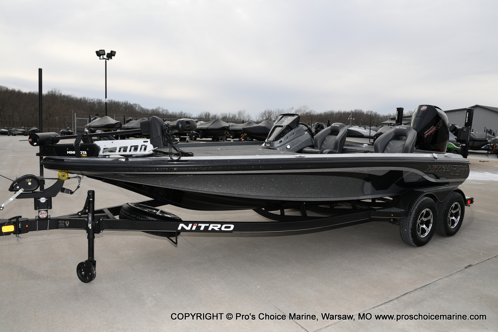 2020 Nitro boat for sale, model of the boat is Z20 Pro Pack & Image # 22 of 50
