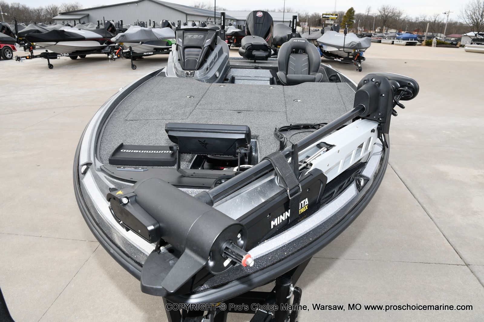 2020 Nitro boat for sale, model of the boat is Z20 Pro Pack & Image # 23 of 50