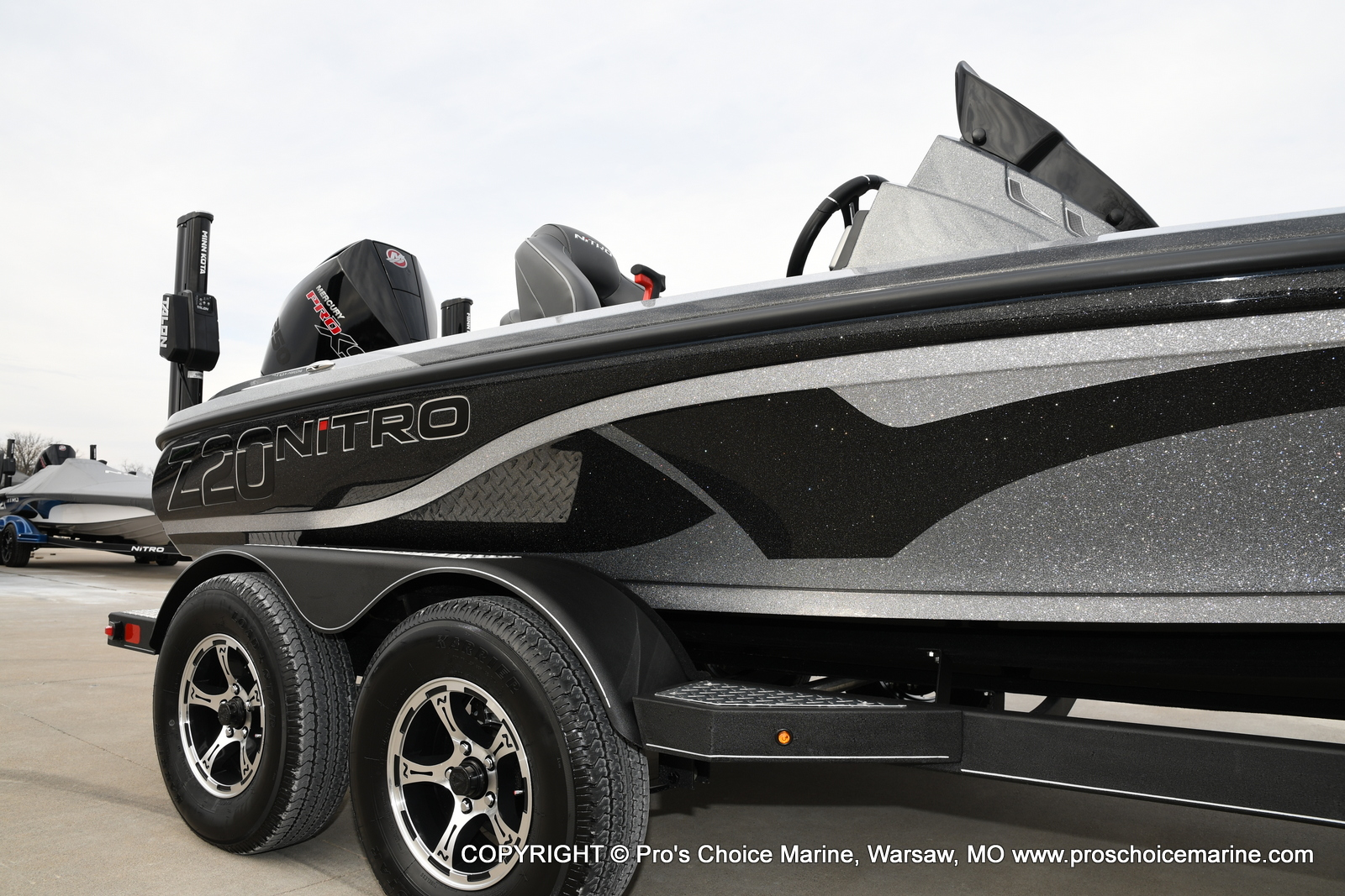 2020 Nitro boat for sale, model of the boat is Z20 Pro Pack & Image # 3 of 50