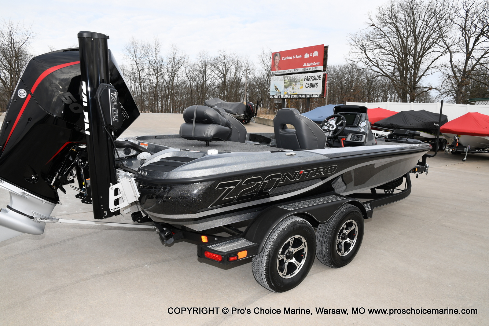 2020 Nitro boat for sale, model of the boat is Z20 Pro Pack & Image # 36 of 50