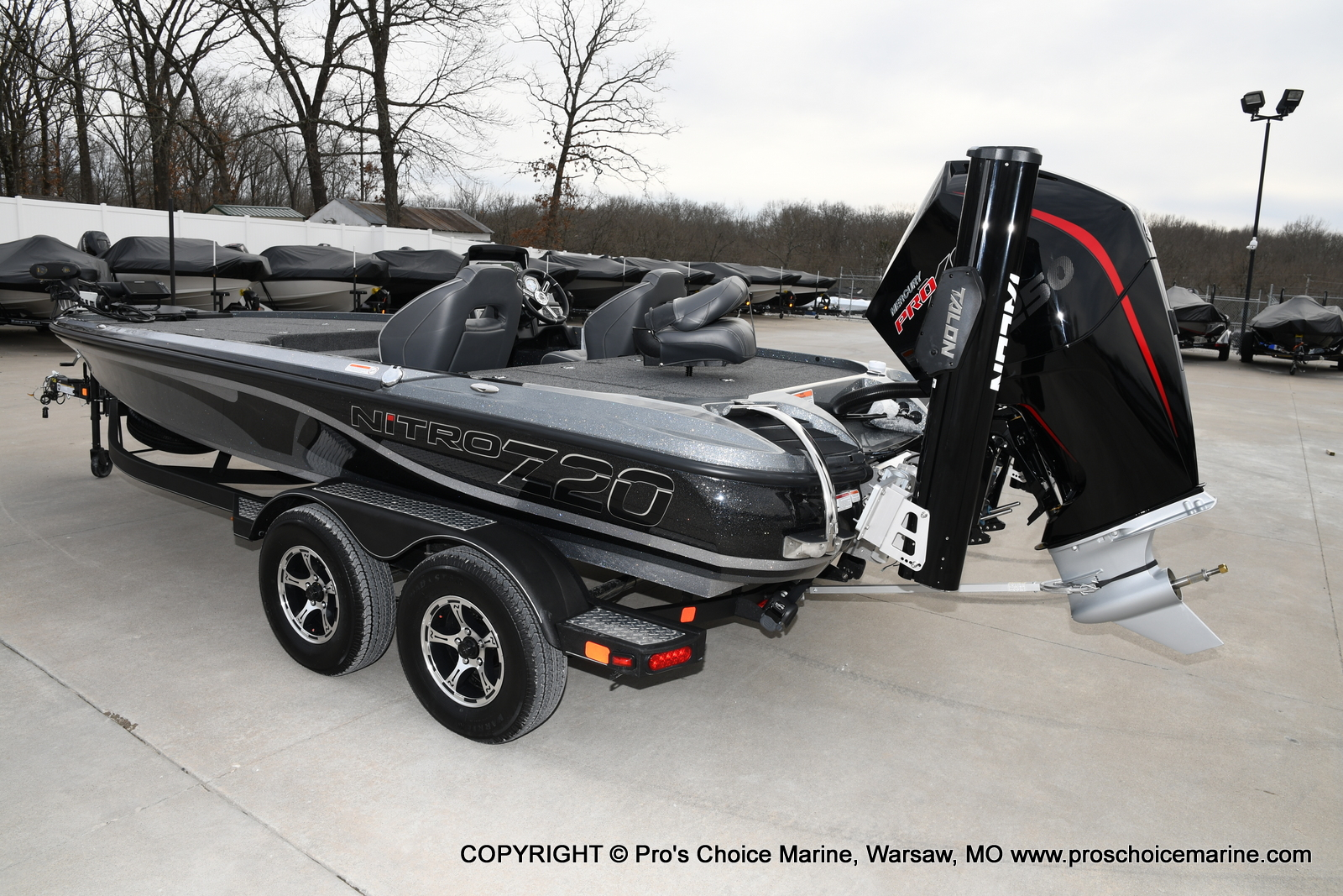 2020 Nitro boat for sale, model of the boat is Z20 Pro Pack & Image # 5 of 50