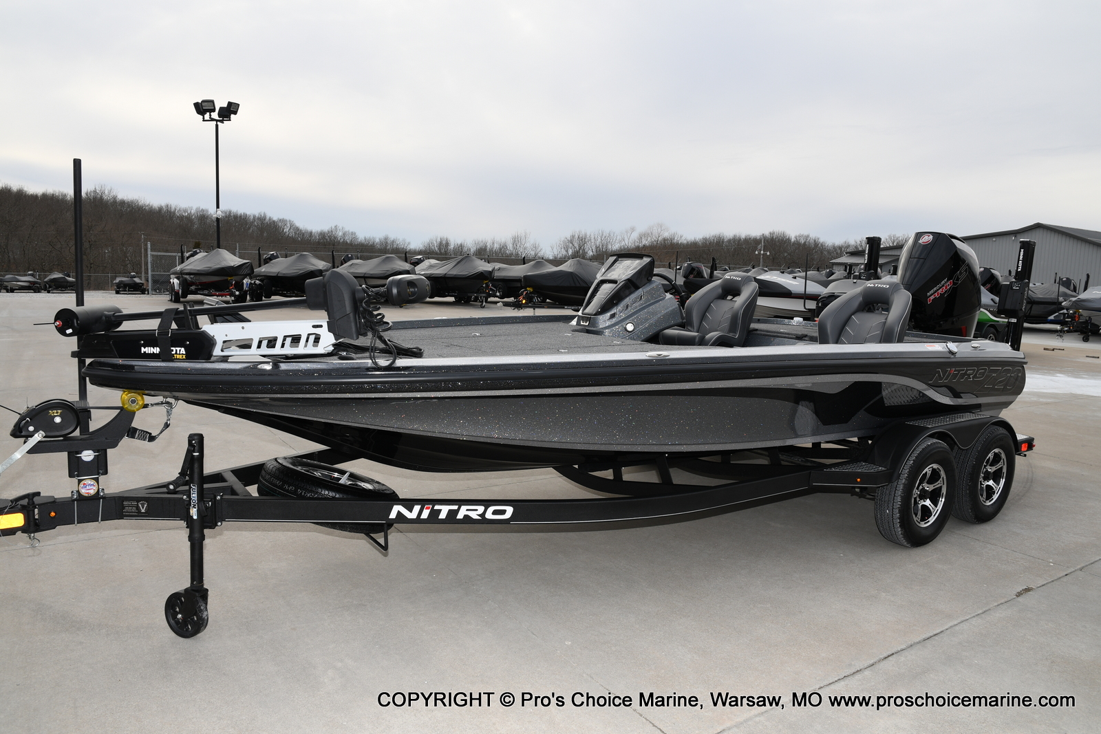 2020 Nitro boat for sale, model of the boat is Z20 Pro Pack & Image # 6 of 50