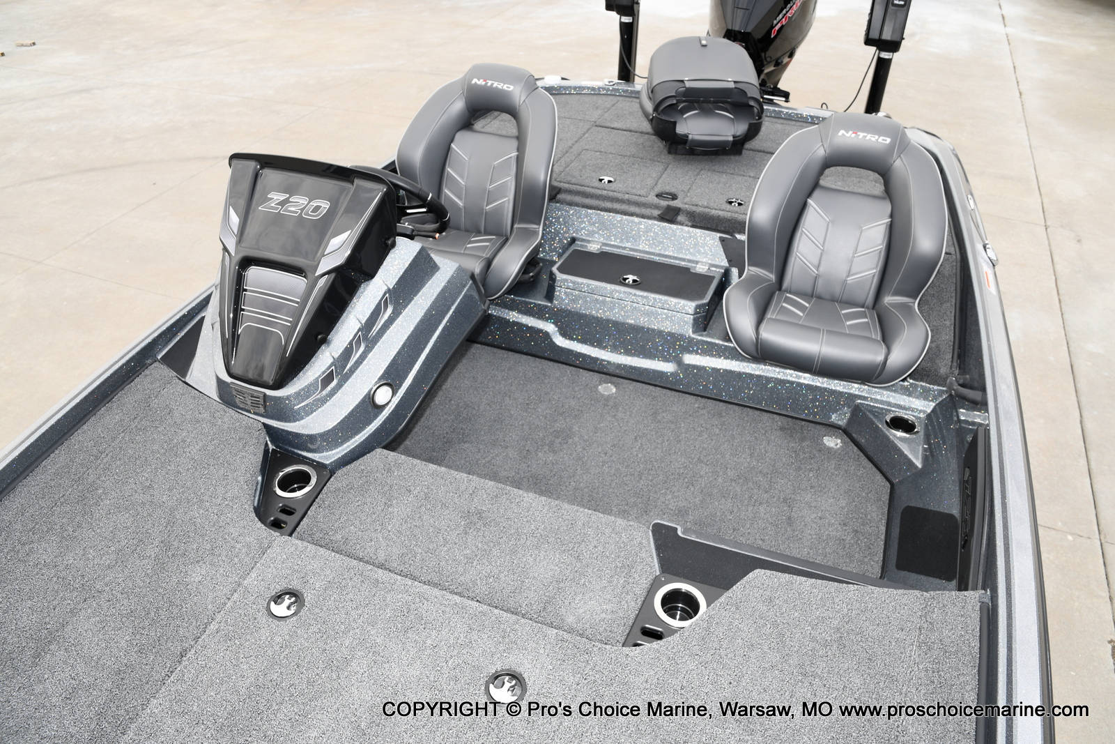 2020 Nitro boat for sale, model of the boat is Z20 Pro Pack & Image # 7 of 50