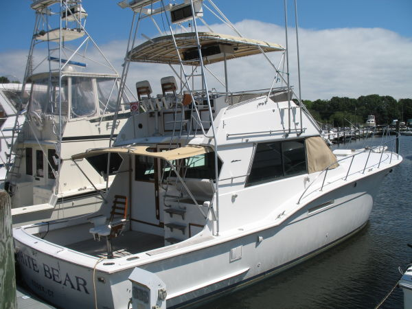 Hatteras 46 Convertible trades considered Sports Fishing Boats
