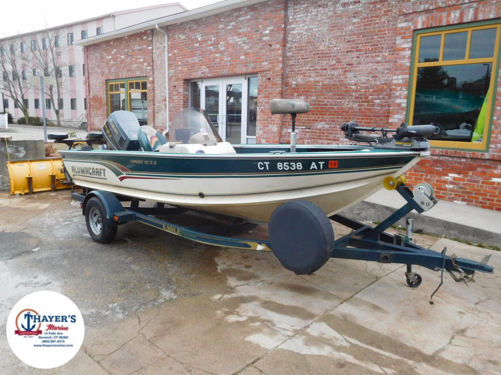 1998 ALUMACRAFT TOURNAMENT PRO 175 CS for sale
