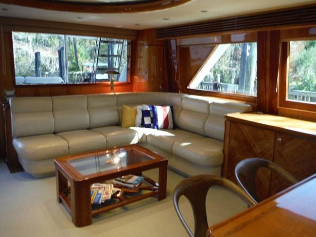 Salon Looking Aft to Starboard