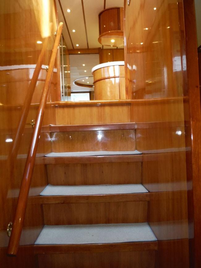 Steps to Forward Cabins