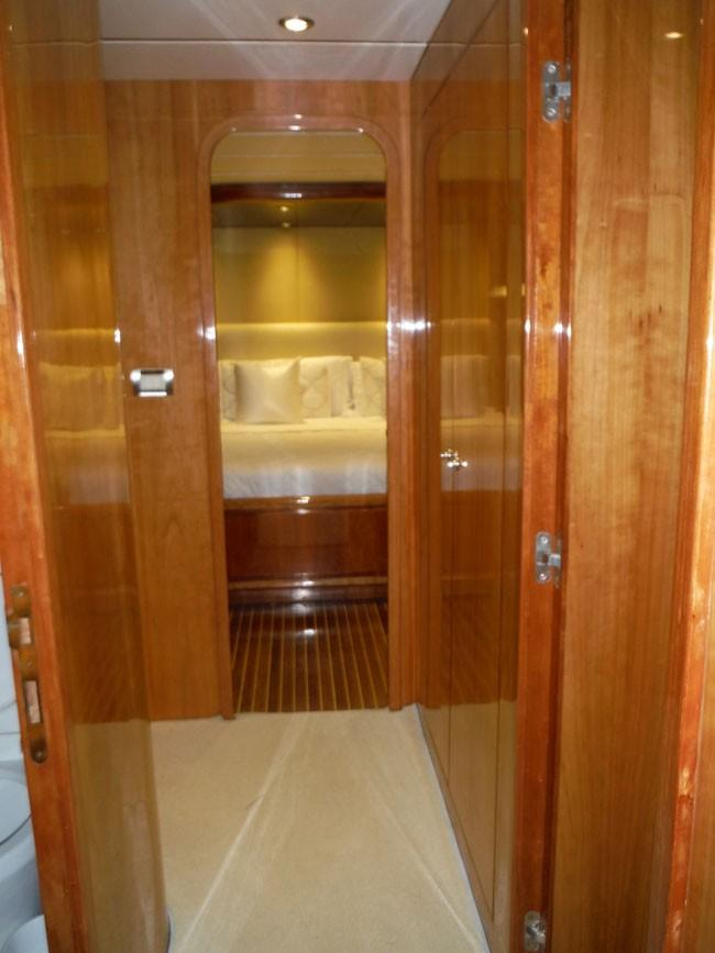 Accommodation Companionway Looking Aft