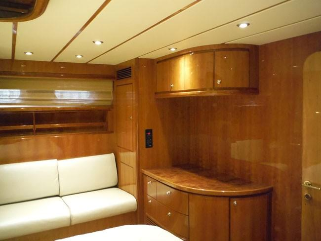Master Cabin Looking to Port