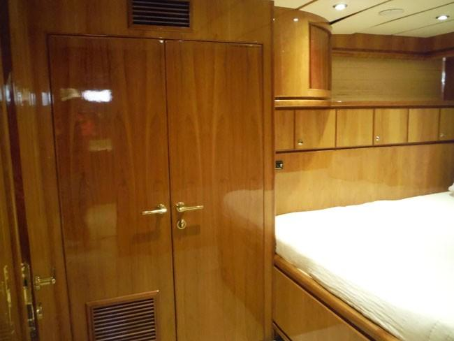 Port Side Double Cabin Looking Aft