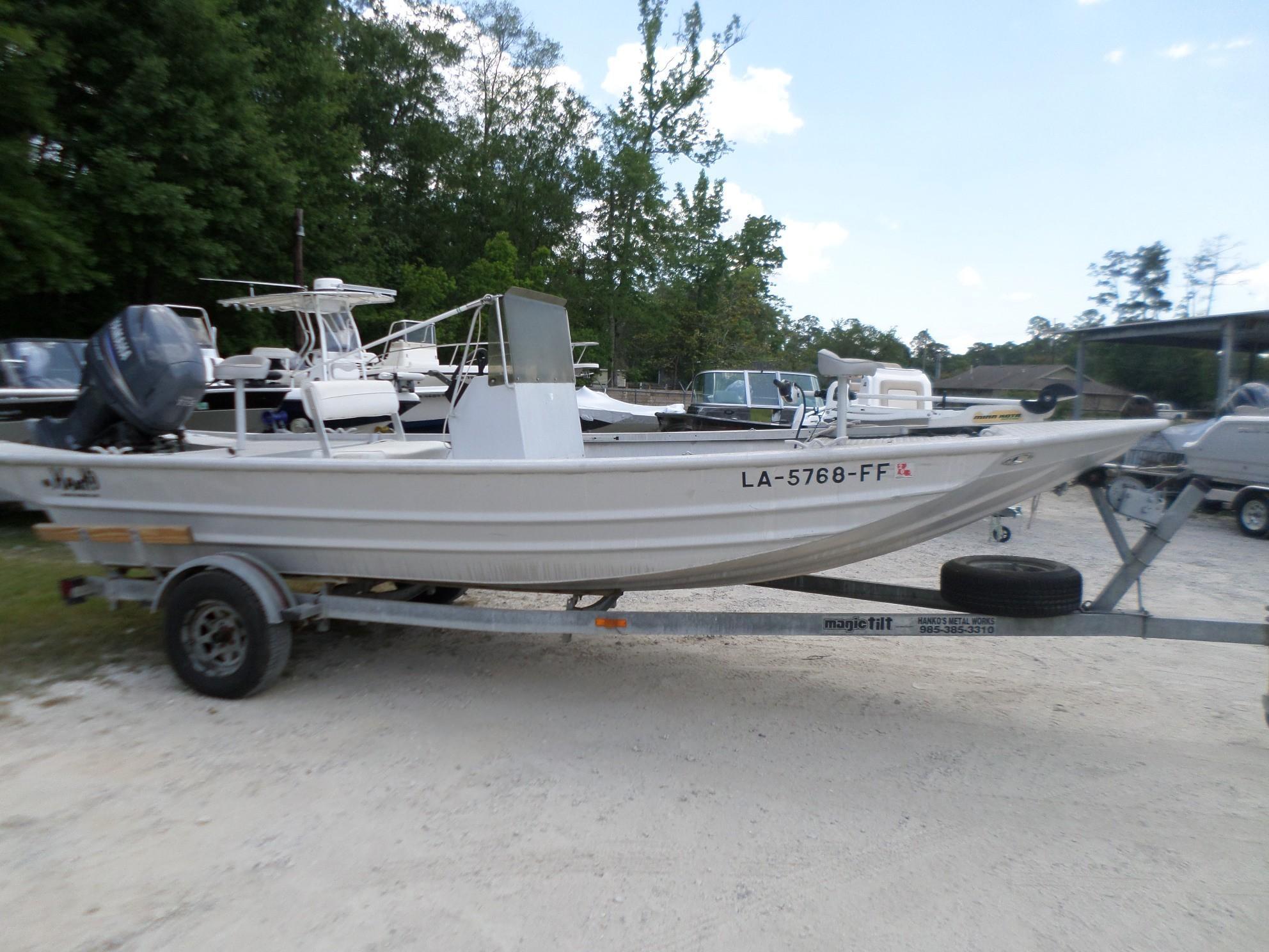 Used  2002 19' Hanko 19 Aluminum Fish Boat in Slidell, Louisiana