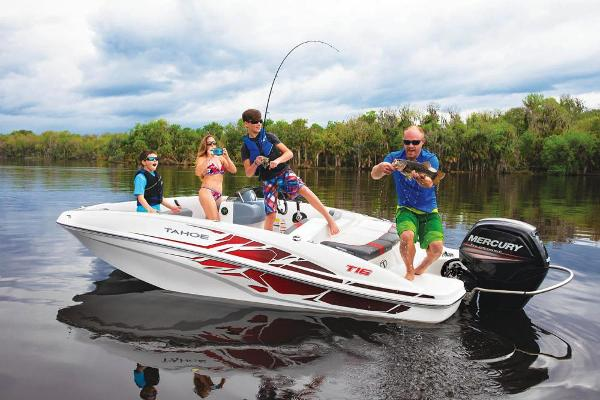 2020 Tahoe boat for sale, model of the boat is T16 & Image # 15 of 104