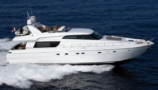 San Lorenzo 62. Length: 18.9 meter. Model Year: 2008. Price: €999000