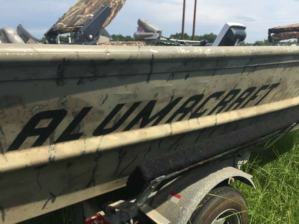2000 ALUMACRAFT WATERFOWLER 15 for sale