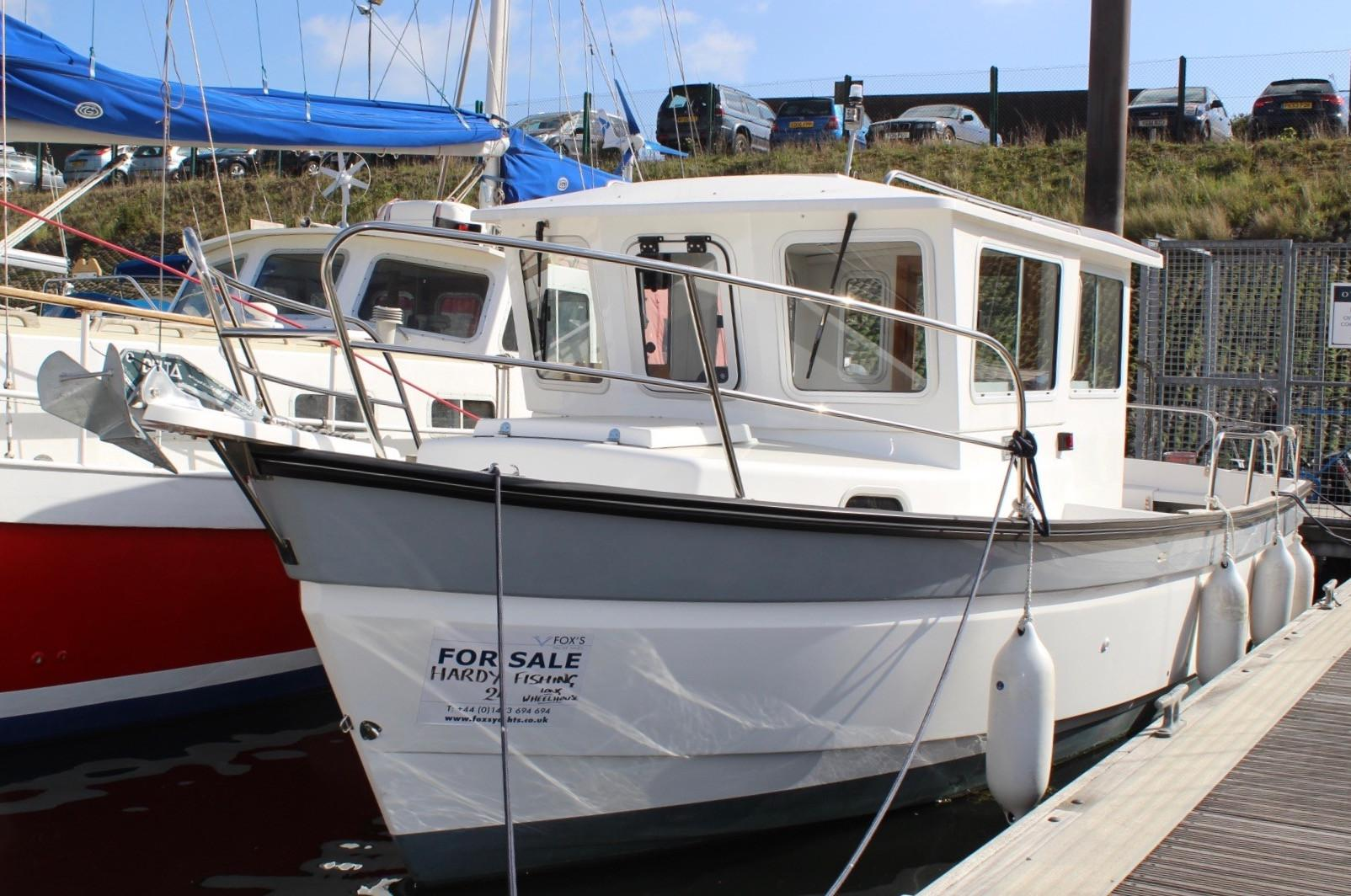 Hardy 24 Long Wheelhouse